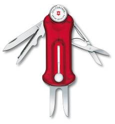 Victorinox Golf Tool transparent rot