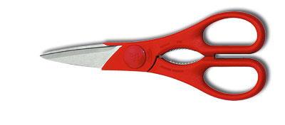 Küchenschere TWIN rot