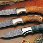 Classic Damascus Ahorn Wurzelholz