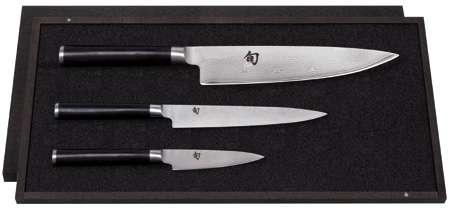 3-tlg. Messer Set