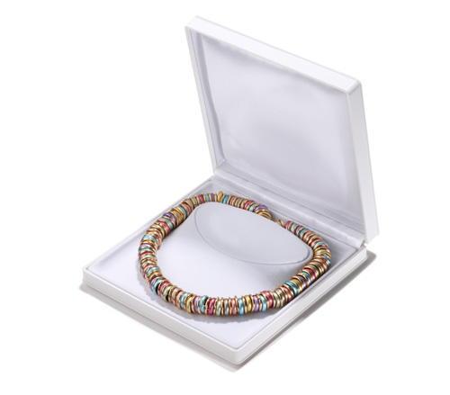 Bauer Junior Halskette aus Aluminium Ringen